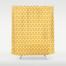 Snake zig-zag pattern Shower Curtain