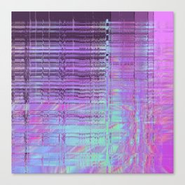 Softest Possible Glitch 02 Canvas Print