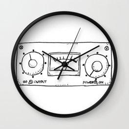 compressor LA-3A Wall Clock