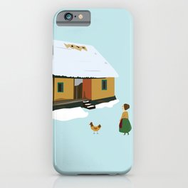 Winter nostalgia iPhone Case