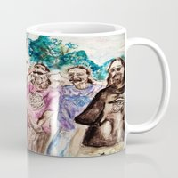 grateful dead Mugs featuring Dark Star Orchestra Grateful Dead Painting by Acorn