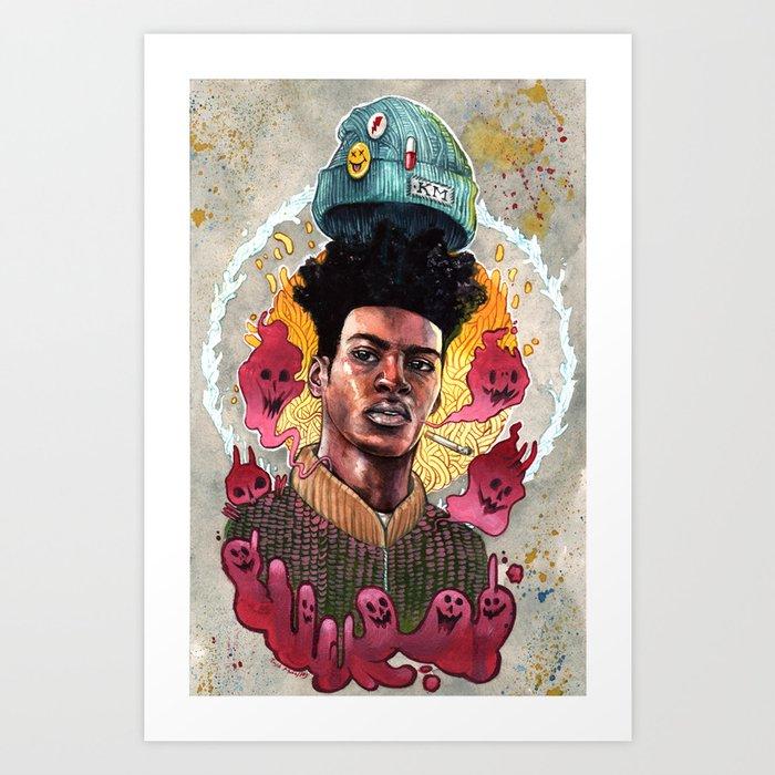 Bad Behavior Art Print