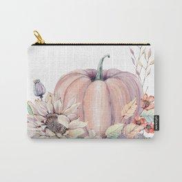 Autumn Pumpkin Carry-All Pouch