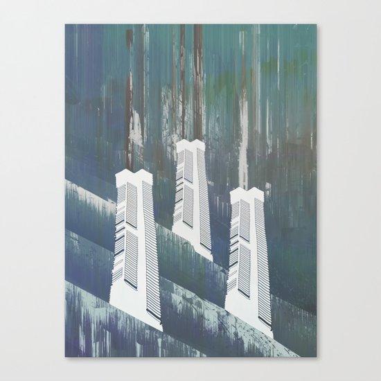 white chimneys / 19-09-16 Canvas Print