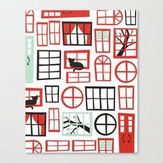 Doors and Windows Canvas Print