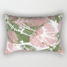 Leaves IV Rectangular Pillow