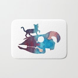 Cat Art Bath Mat