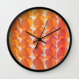 The Jelly Wave Collection Wall Clock