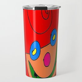 Red Balloon Travel Mug