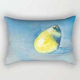 Solitary Pear Rectangular Pillow