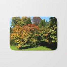 Autumn In The Arboretum Bath Mat