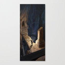 Dungeon Delve Canvas Print