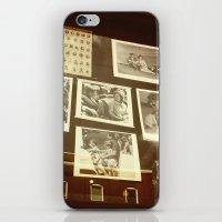 dallas iPhone & iPod Skins featuring DALLAS WINDOW by Johnny Cashley