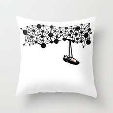 the Shoes Throw Pillow