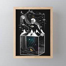 Existential Isolation Framed Mini Art Print