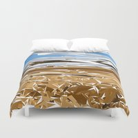 iceland Duvet Covers featuring iceland by Matthias Hennig