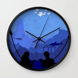 A deep secret Wall Clock