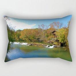 Autumn Beauty on The Big River Rectangular Pillow