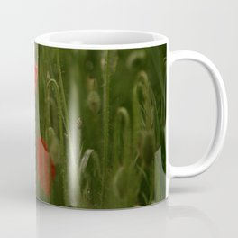 Red Poppies at Dusk Coffee Mug