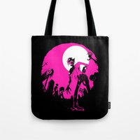 zombies Tote Bags featuring Zombies! by JoJo Seames