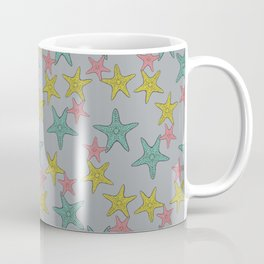 Starfish gray background Coffee Mug