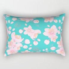 sakura blossoms Rectangular Pillow