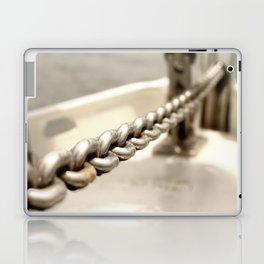 Anchor chain in detail Laptop & iPad Skin