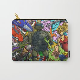 Retro Toy Box Carry-All Pouch