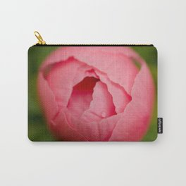 Peony Bud Botanical / Nature / Floral Photograph Carry-All Pouch