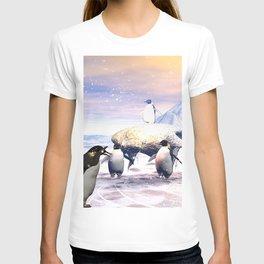 Funny penguins T-shirt