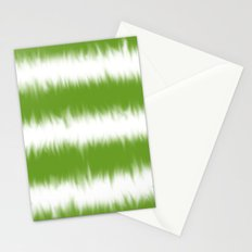 Green Tie Dye Stationery Cards
