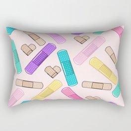 Retro Bandages Rectangular Pillow