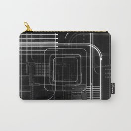 Xray 3D Illustration Carry-All Pouch