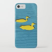 ducks iPhone & iPod Cases featuring Ducks by Brontosaurus