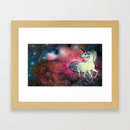 ladymagicunicorn Framed Art Print