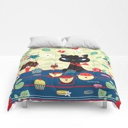 Chat Noir Comforters