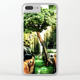 Nature will win in the End Clear iPhone Case