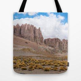 CHILE, San Pedro de Atacama: Atacama Desert Tote Bag