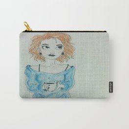 Morning Coffee Never Looked So Cute  Carry-All Pouch