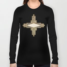 Luxurious gold and marble Long Sleeve T-shirt