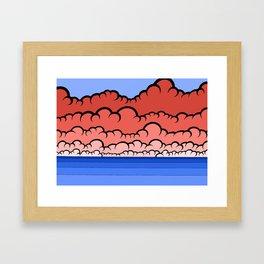Foggy At Sea Framed Art Print