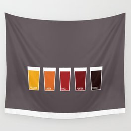 Pints Wall Tapestry
