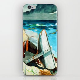 Winslow Homer After the Hurricane iPhone Skin