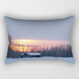 prairie morning Rectangular Pillow