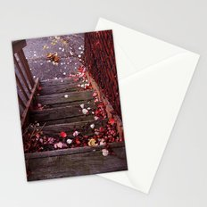 Autumn Stairs Stationery Cards