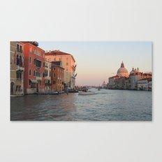 Venetian View Canvas Print
