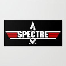 Top Spectre Canvas Print