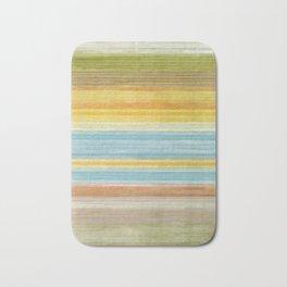 Colorbands Yellowstone Yellow Bath Mat