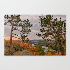 Eagle cliff pines Canvas Print
