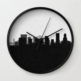 City Skylines: Portland Wall Clock